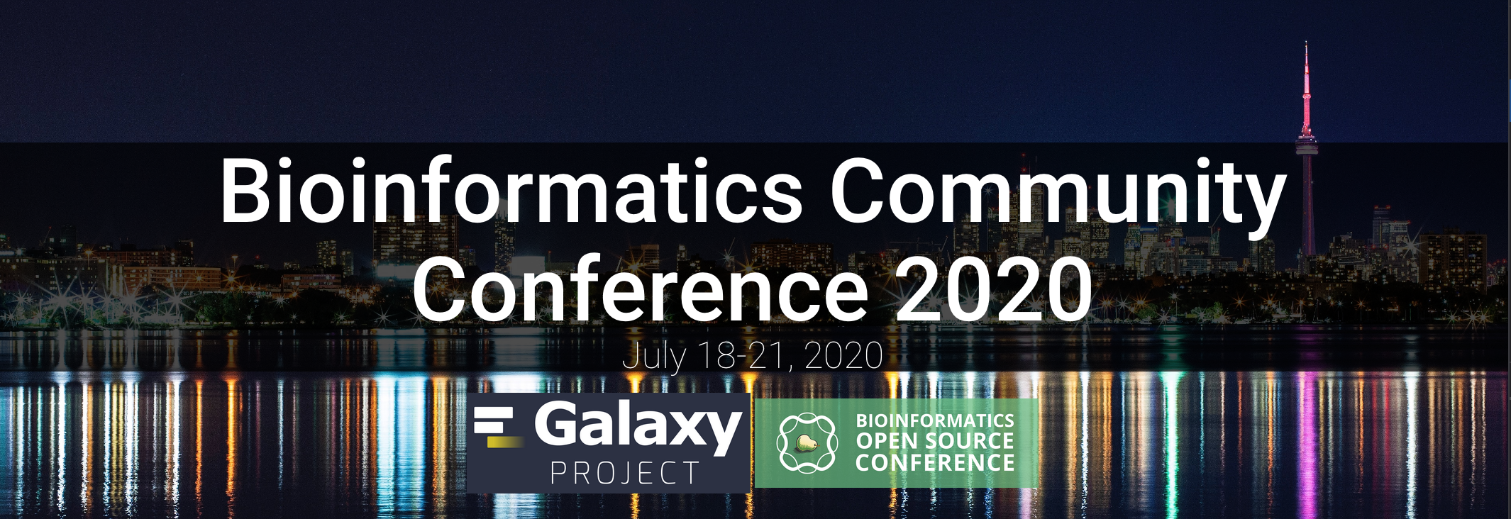 Bioinformatics Community Conference 2020 July 18-21, 2020